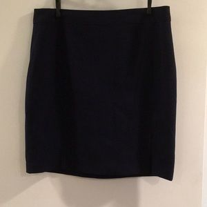 Banana Republic navy pencil skirt
